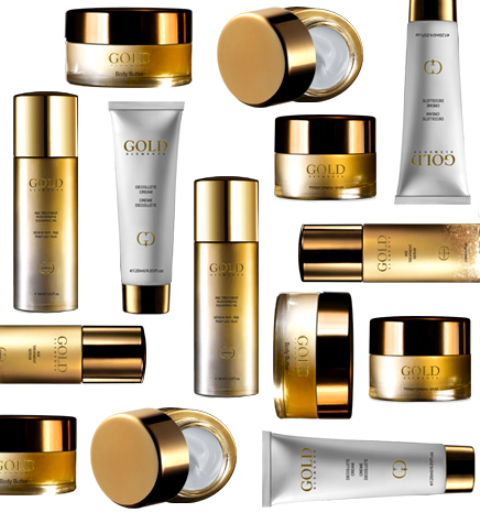tomoson gold elements beauty products