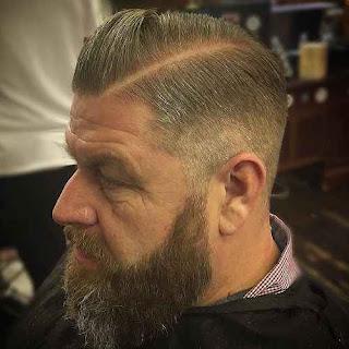 Long Beard Style for Thin hairs