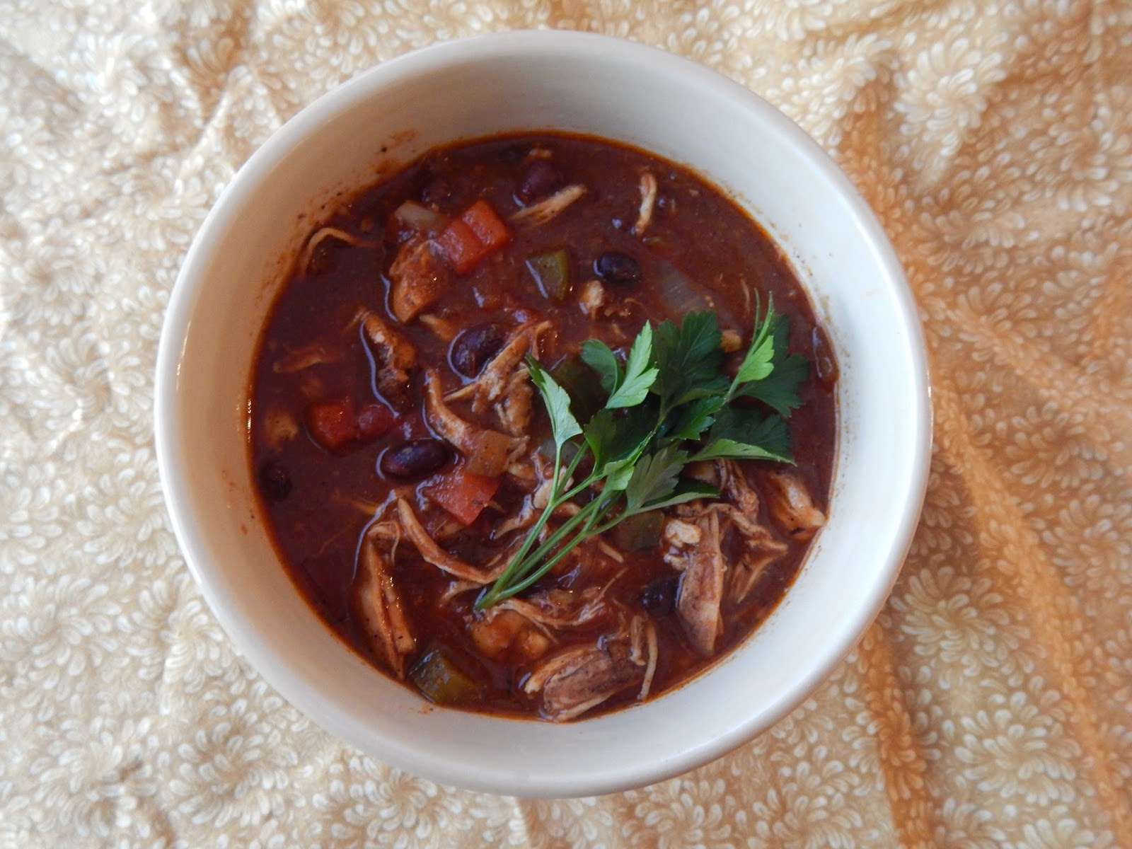 The Nerdy Chef Jamaican Jerk Chicken Chili