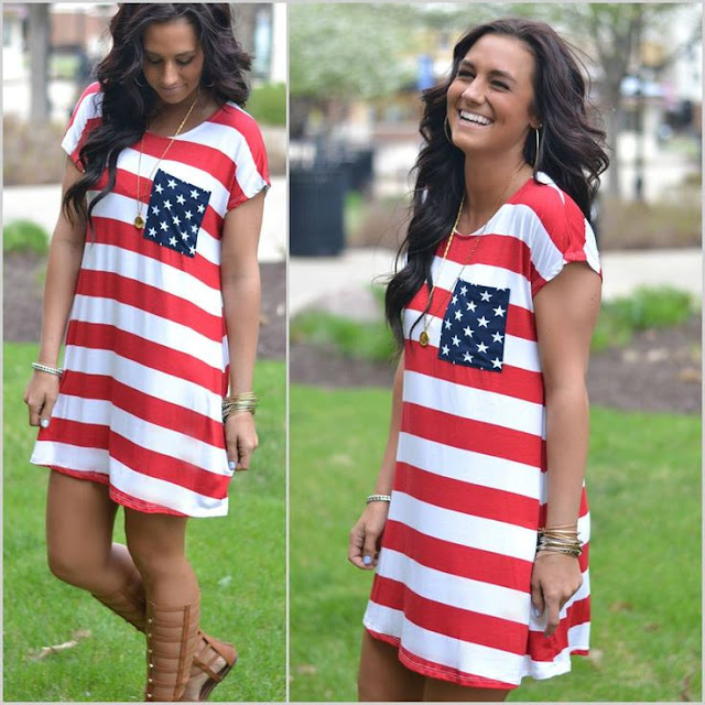 Fourth of july outfits, clothes and costume ideas