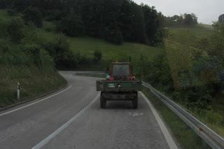 Servië per camper - autoweg
