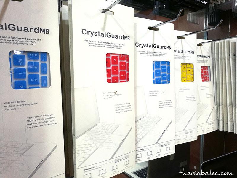 CrystalGuard keyboard protector