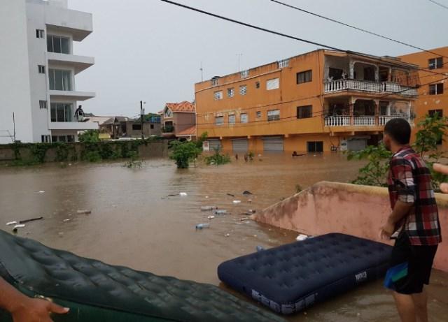 Remanentes del Ciclón Beryl dejan inundaciones en Rep Dom