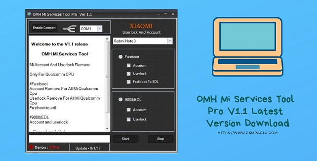 OMH Mi Services Tool Pro V1.1 Latest Version Download by gsmpagla