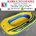 Jual Perahu Karet Inflatable Warna Kuning 115x175cm Untuk Mancing di Makasar