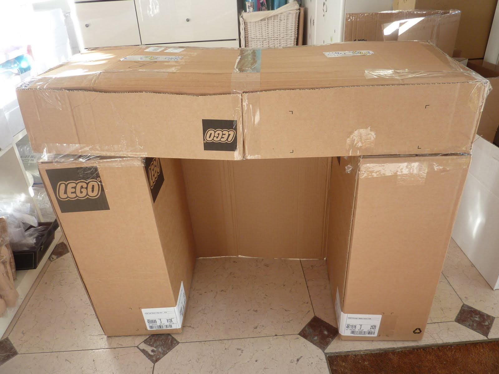 chemin e en carton pour noel bd75 jornalagora. Black Bedroom Furniture Sets. Home Design Ideas