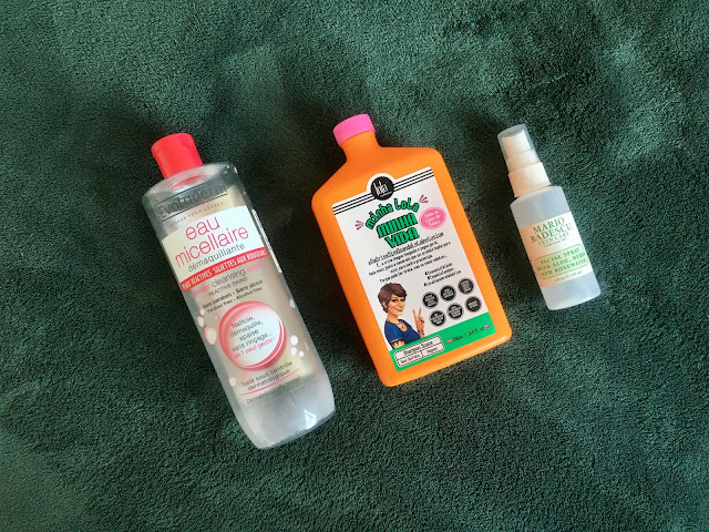 letmecrossover_blog_michele_mattos_blogger_blogueira_beauty_empties_makeup_products_I've_used_up_lola_minha_lola_minha_vida_shampoo_review_mario_badescu_rose_water_spray_setting_eau_micellaire_creutly_free_micellar_water_evoluderm_french_not_animal_testing_discount_code