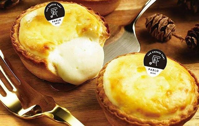 Daftar Menu dan Harga Cheese Tart Pablo Indonesia