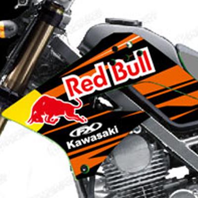 KLX 150 L - Redbull