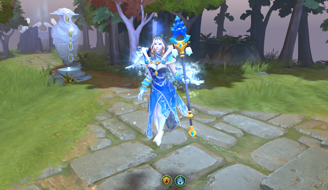 Mod Crystal Maiden Arcana No Dog