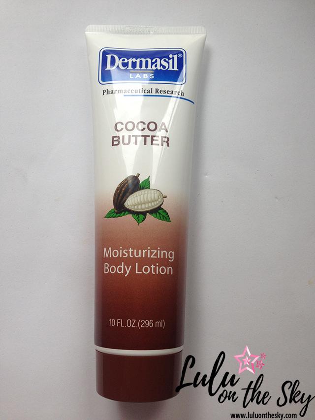 Loção hidratante Dermasil Labs Cocoa Butter
