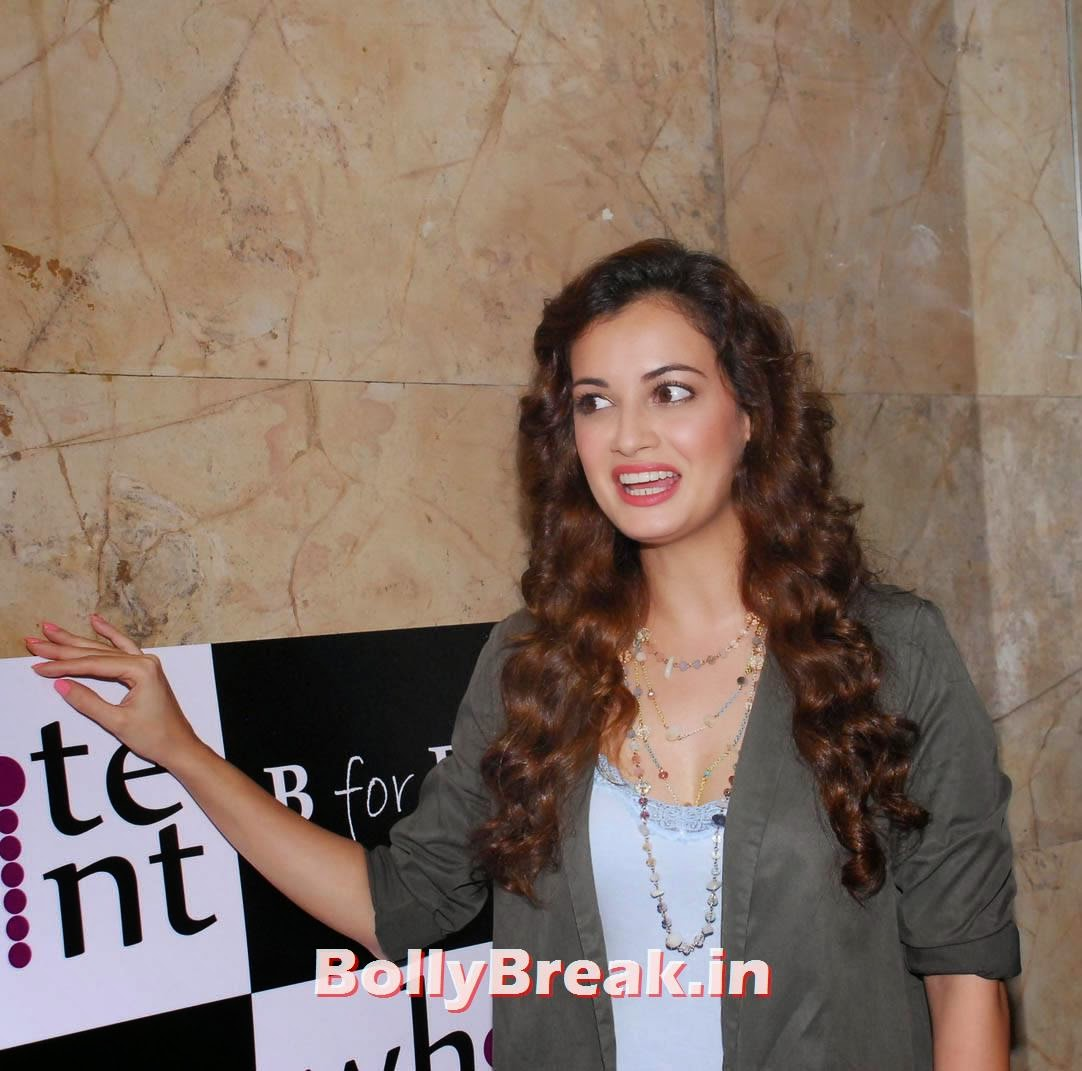 Dia Mirza With Curly Hair - Latest Images - 7 Pics-2828