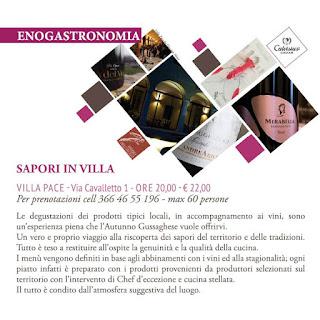 Sapori in Villa 12-18-23 settembre Gussago (BS)