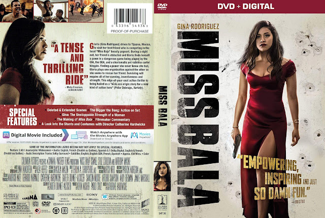 Miss Bala DVD DVD Cover