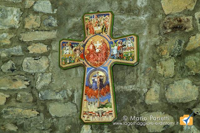 Chiesa di San Maurizio a Porlezza, crocefisso
