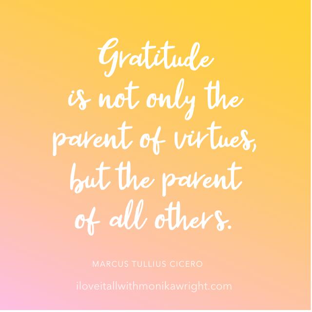#The Sunday Quote #gratitude #gratitude is #gratitude quote #quote #quotes #virtues #cicero