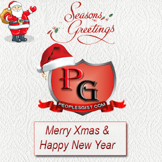 Merry Christmas with Love from the PeoplesGist Team