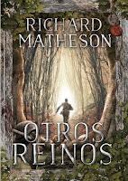"Portada del libro ""Otros reinos"", de Richard Matheson"