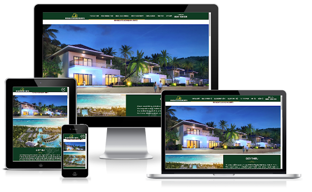 Template blogspot bất động sản responsive