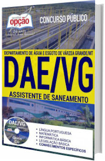 Apostila DAE/VG 2017 Assistente de Saneamento