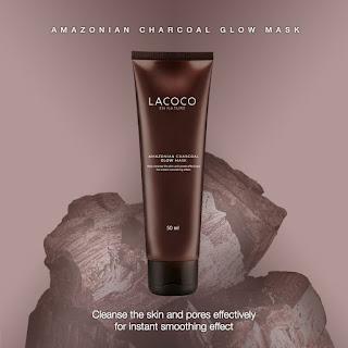 Amazonian Charcoal Glow Mask