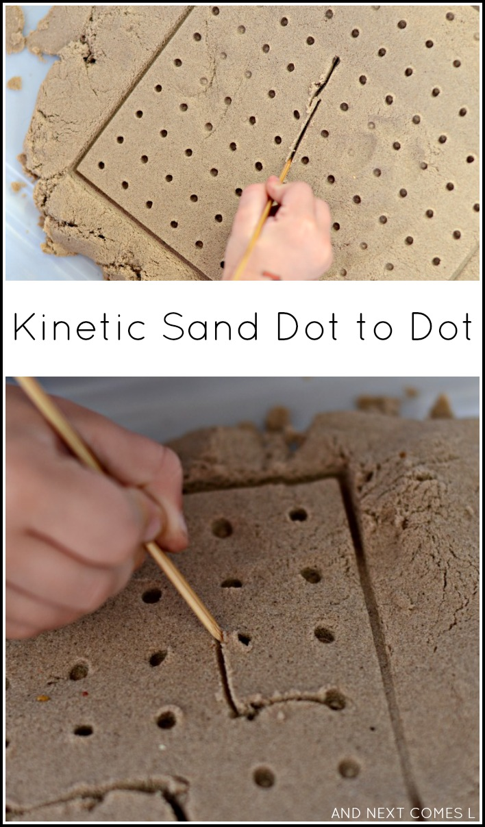 how to make connect sand