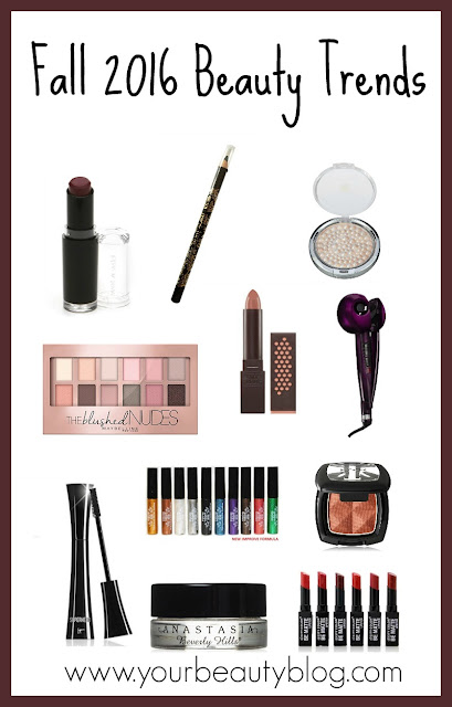 fall 2016 beauty trends