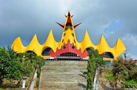 Jelajah Nusantara : Menara Siger Tempat Wisata Sekaligus Ikon Lampung