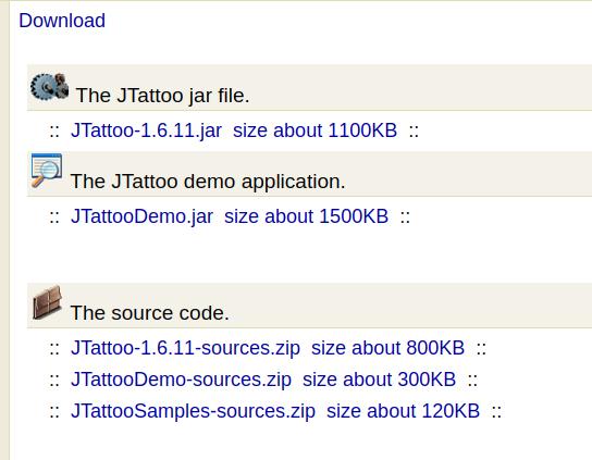 Sebuah Library untuk mempercantik tampilan JFrame pada Netbeans