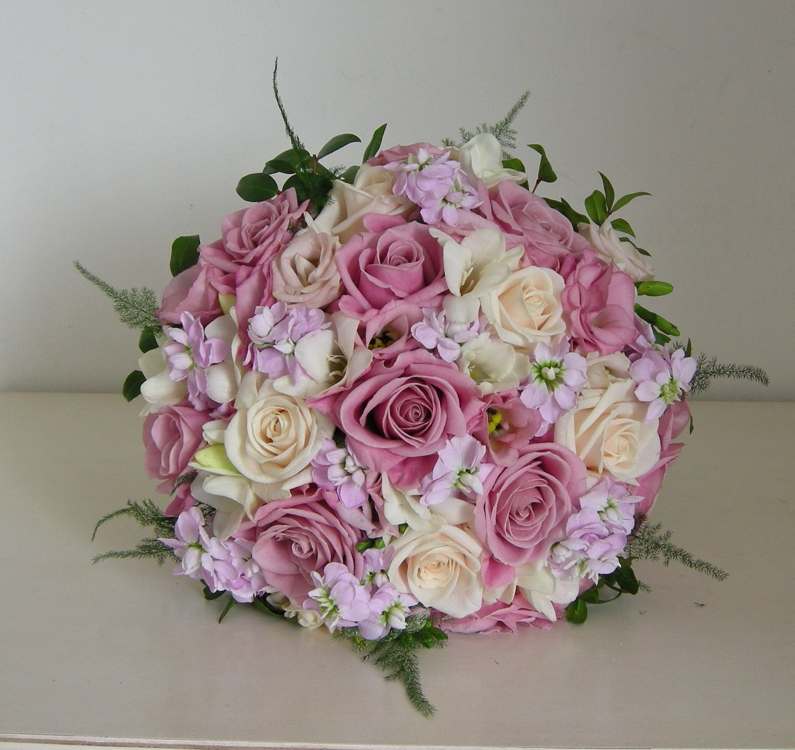 Pink Wedding Flowers: Wedding Flowers Blog: Sarah's Wedding Flowers, Warsash