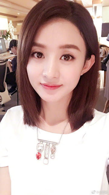 Zhao Li Ying Forbes 2017 Celebrity List