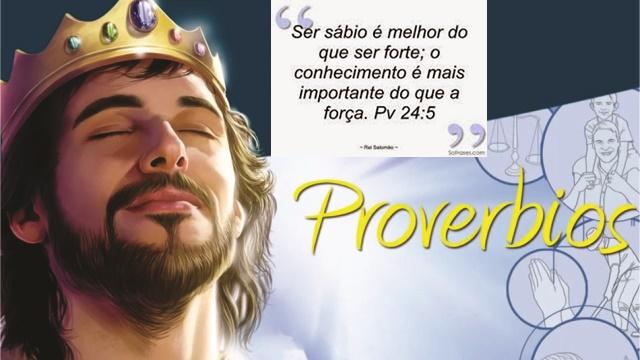 Proverbios de sabedoria - Salomão