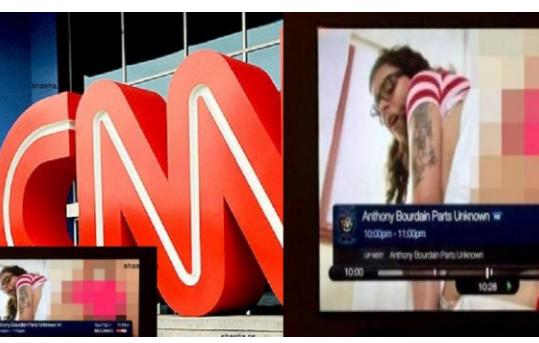 بالفيديو فضيحة كبيرة لقناة CNN تنشر فيلم إبا حي  عن طريق الخطأ لمدة نصف ساعة  والصدمة الكبرى هو تعليق ممثلة الفيلم على ما حدث