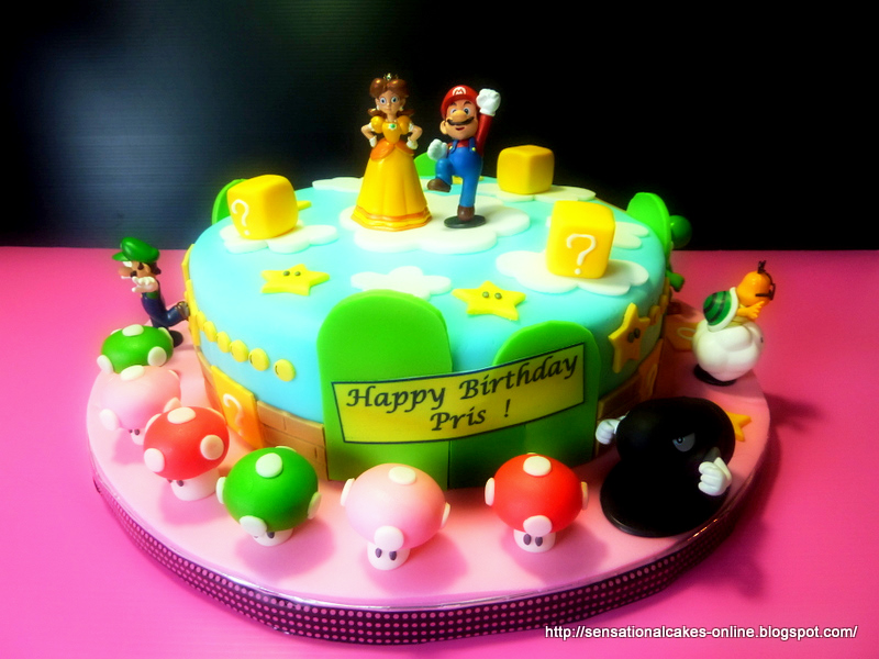 Mario Cake And Friends