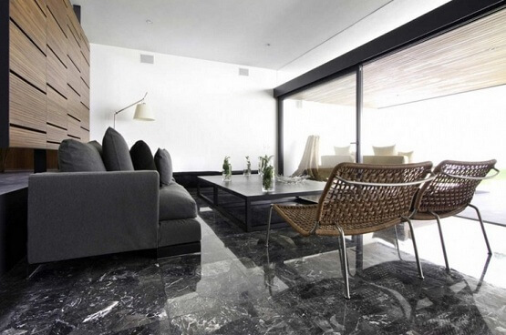 Black Marble Floor Tile Colors Design For Living Room Part 86