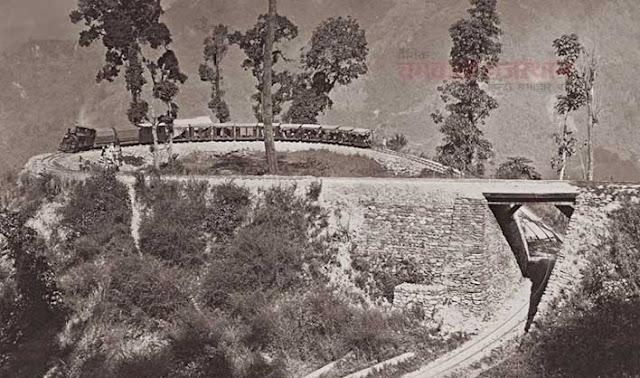 कैमरे ने वो देखा जो किसी ने नहीं देखा, darjeeling hill railway 1885