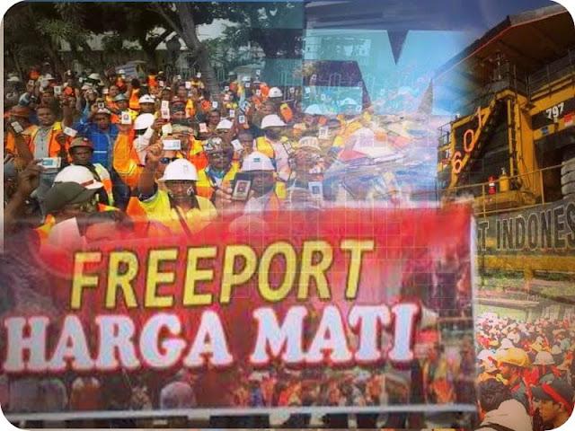 GSPF dan APRI Minta Freeport dan Pemerintah Cari Solusi