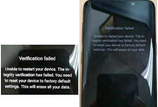 "Cara mengatasi ""Verification Failed"" di Smartphone Samsung"