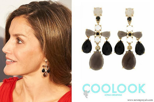 Queen Letizia wear Coolook Jewelry earrings