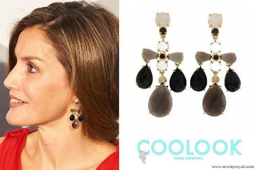 Queen Letizia wear Coolook Jewelry earrings