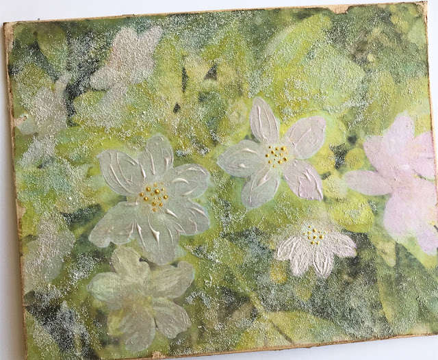 image transfer mixed media canvas lisa fulmer
