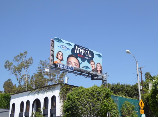 Atypical season 1 billboard