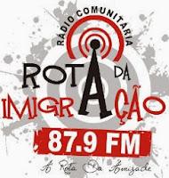 Rádio Rota da Imigração FM de Criciúma ao vivo