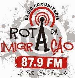 Rádio Rota da Imigração FM 87,9 de Criciúma - Santa Catarina Ao Vivo