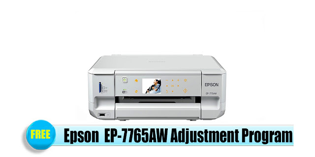 Epson  EP-7765AW Adjustment Program