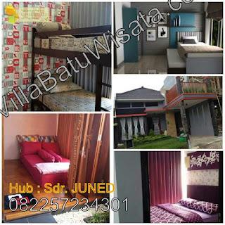 Villa Batu Malang Dekat Agro Wisata | Villa Pinus 4 Kamar Tidur | Villa Batu Wisata