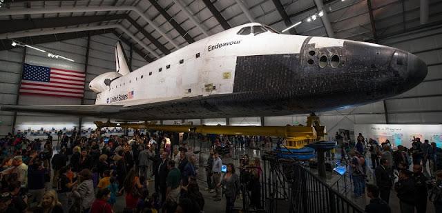 Espaço Shuttle Endeavour do ScienCenter de Los Angeles
