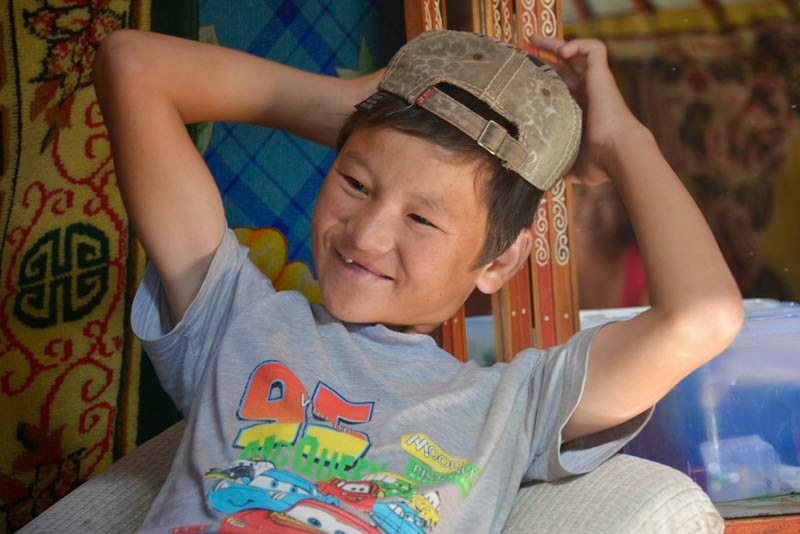 UNICEF Mongolia: Riders on the storm: protecting child