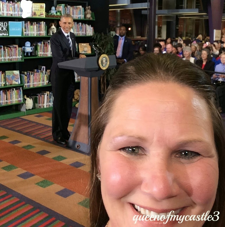 Selfie with the President