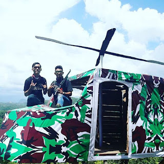 Spot Helicopter Army